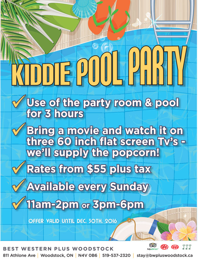 Kiddie Pool Party