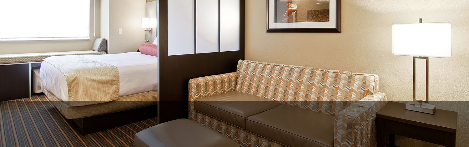 King Bed with Couch Room